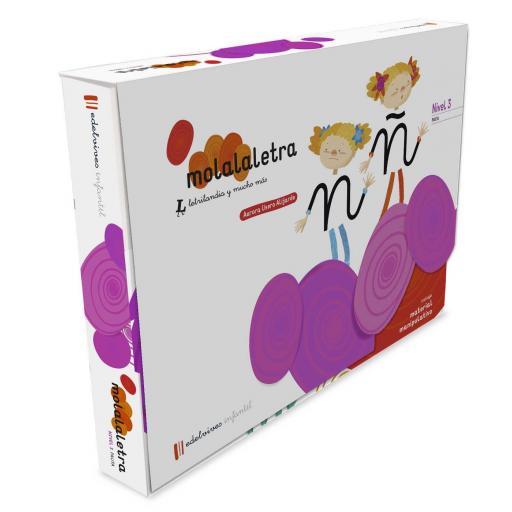 LIBRO DE TEXTO - 3 INFANTIL MOLA LA LETRA - NIVEL 3. PAUTA 5 AÑOS