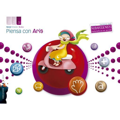 LIBRO DE TEXTO - 3 INFANTIL PIENSA CON ARIS. 3 TRIMESTRE 5 AÑOS