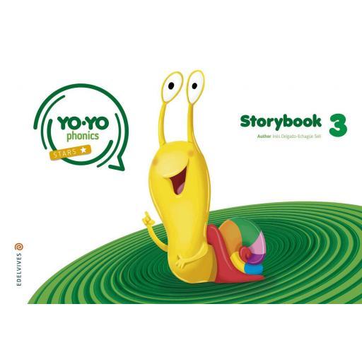 LIBRO DE TEXTO - 3 INFANTIL YOYO PHONICS STORYBOOK 3 5 AÑOS