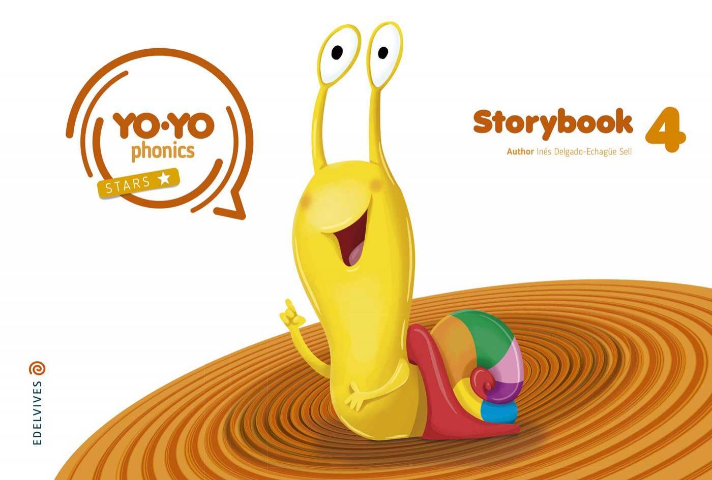 LIBRO DE TEXTO - 3 INFANTIL YOYO PHONICS STORYBOOK 4 5 AÑOS