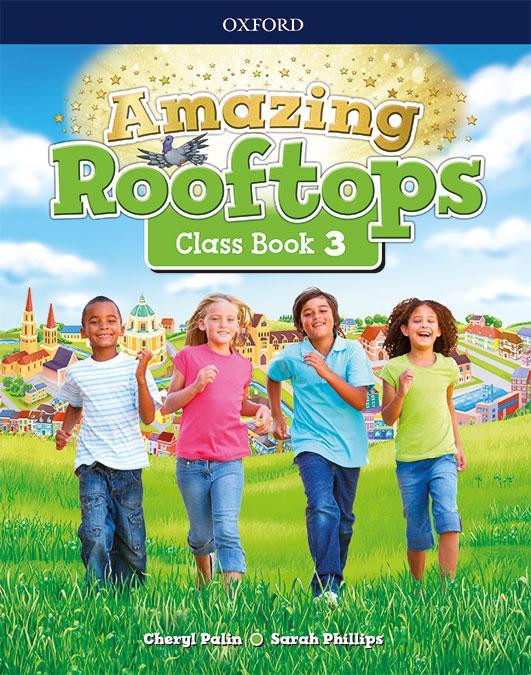LIBRO DE TEXTO - 3 PRIMARIA AMAZING ROOFTOPS CLASS BOOK