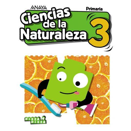 LIBRO DE TEXTO - 3 PRIMARIA CIENCIAS NATURALEZA. PIEZA A PIEZA
