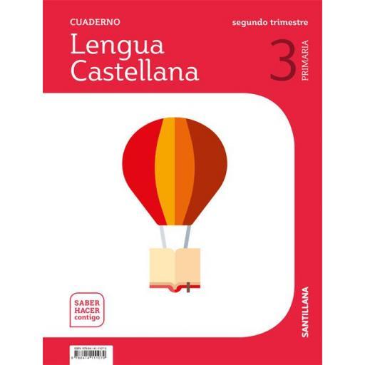 LIBRO DE TEXTO - 3 PRIMARIA CUADERNILLO LENGUA 2 TRIMESTRE SABER HACER CONTIGO