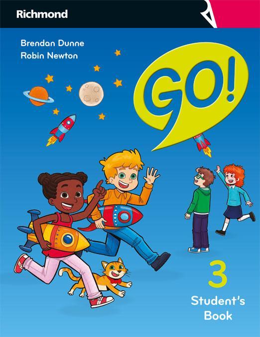 LIBRO DE TEXTO - 3 PRIMARIA GO! INGLÉS STUDENT BOOK