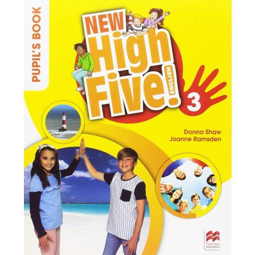 LIBRO DE TEXTO - 3 PRIMARIA NEW HIGH FIVE 3 PUPILS BOOK