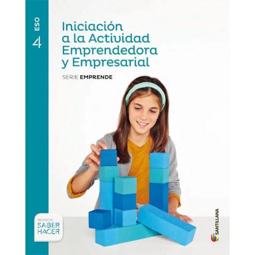 LIBRO DE TEXTO - 4 ESO INICIACIÓN A LA ACTIVIDAD EMPRENDEDORA Y EMPRESARIAL