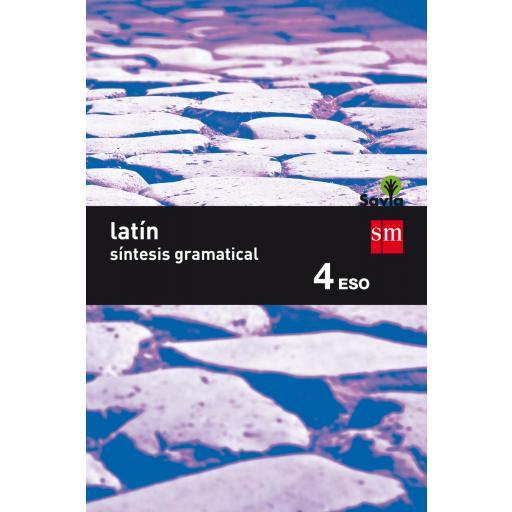 LIBRO DE TEXTO - 4 ESO LATÍN. SAVIA