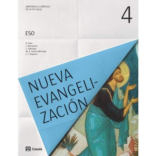 LIBRO DE TEXTO - 4 ESO RELIGIÓN NUEVA EVANGELIZACIÓN