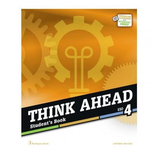 LIBRO DE TEXTO - 4 ESO THINK AHEAD. STUDENT BOOK [0]