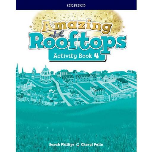 LIBRO DE TEXTO - 4 PRIMARIA AMAZING ROOFTOPS ACTIVITY BOOK