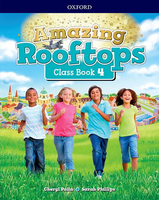 LIBRO DE TEXTO - 4 PRIMARIA AMAZING ROOFTOPS CLASS BOOK