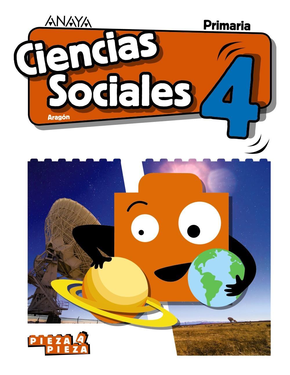 LIBRO DE TEXTO - 4 PRIMARIA CIENCIAS SOCIALES. ARAGÓN PIEZA A PIEZA