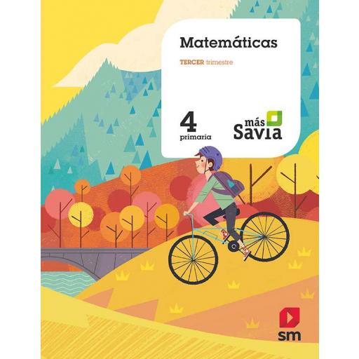 LIBRO DE TEXTO - 4 PRIMARIA MATEMÁTICAS. MÁS SAVIA