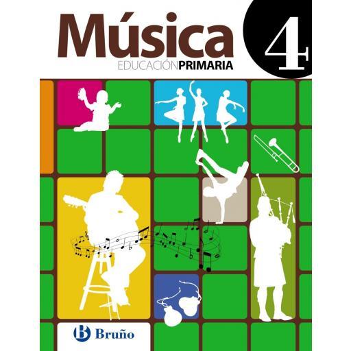 LIBRO DE TEXTO - 4 PRIMARIA MÚSICA 4 [0]