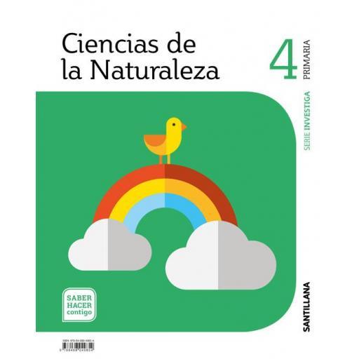 LIBRO DE TEXTO - 4 PRIMARIA NATURALES INVESTIGA, SABER HACER CONTIGO