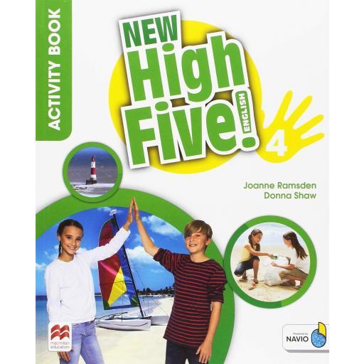 LIBRO DE TEXTO - 4 PRIMARIA NEW HIGH FIVE 4 ACTIVITY BOOK