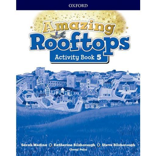 LIBRO DE TEXTO - 5 PRIMARIA AMAZING ROOFTOPS ACTIVITY BOOK