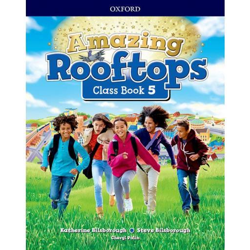 LIBRO DE TEXTO - 5 PRIMARIA AMAZING ROOFTOPS CLASS BOOK