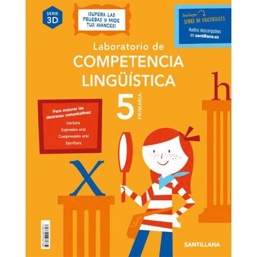 LIBRO DE TEXTO - 5 PRIMARIA LABORATORIO COMPETENCIA LINGÜÍSTICA