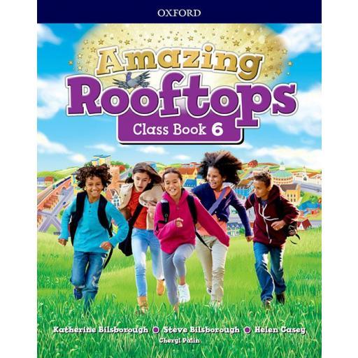 LIBRO DE TEXTO - 6 PRIMARIA AMAZING ROOFTOPS CLASS BOOK