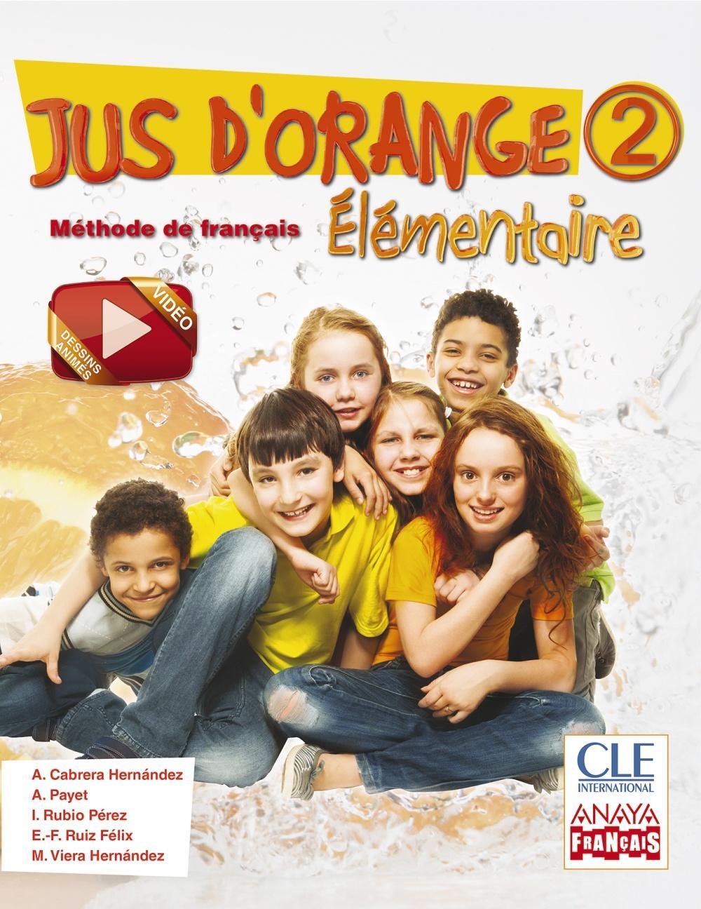 LIBRO DE TEXTO - 6 PRIMARIA JUS D'ORANGE 2 ÉLEMENTAIRE