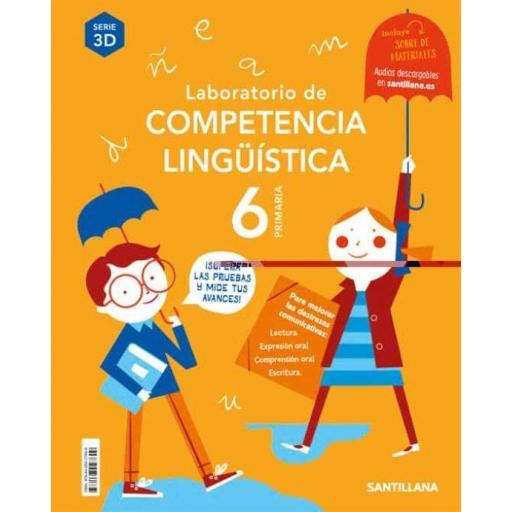 LIBRO DE TEXTO - 6 PRIMARIA LABORATORIO COMPETENCIA LINGÜÍSTICA