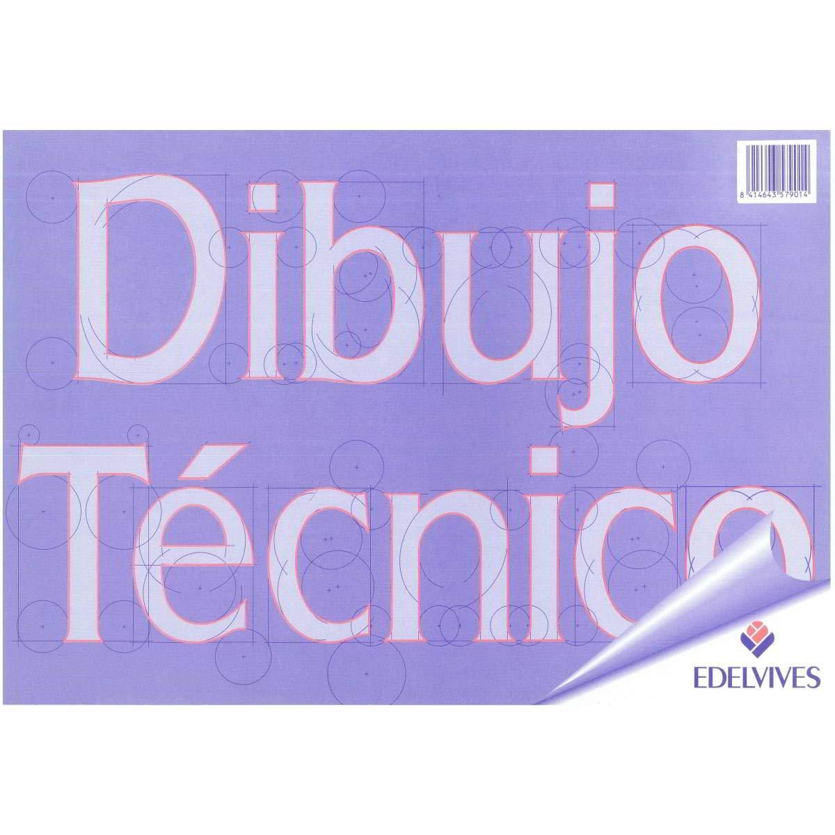 BLOC DE DIBUJO EDELVIVES RECUADRO A4 130 GR. 20 U.