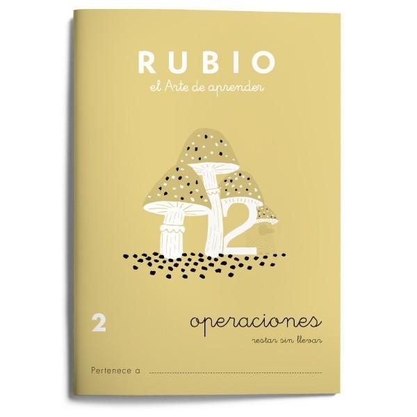 CUADERNO OPERACIONES 2  RESTAR SIN LLEVAR - RUBIO