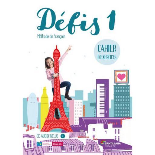 LIBRO DE TEXTO - FRANCES DEFIS 1 CAHIER +CD