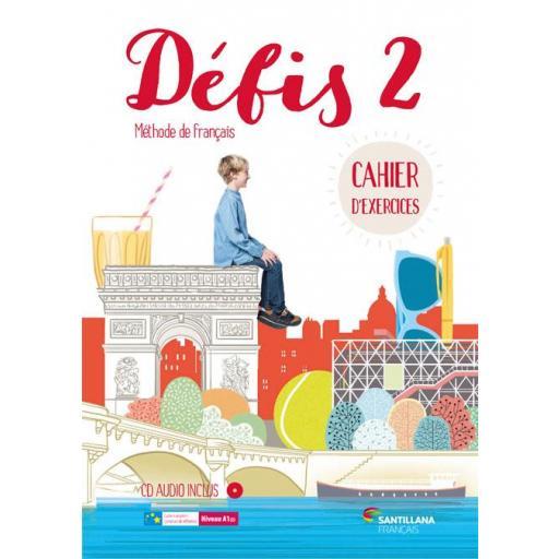 LIBRO DE TEXTO - FRANCES DEFIS 2 CAHIER +CD