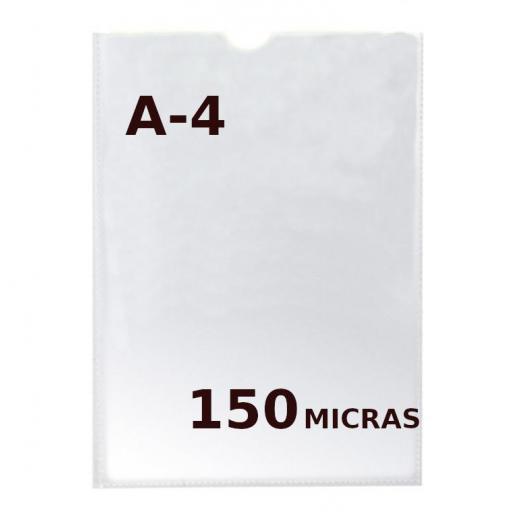 FUNDA PORTADOCUMENTOS A4 150 MICRAS