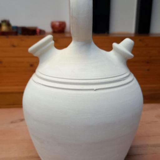 Botijo blanco modelo santanderino de 3 litros