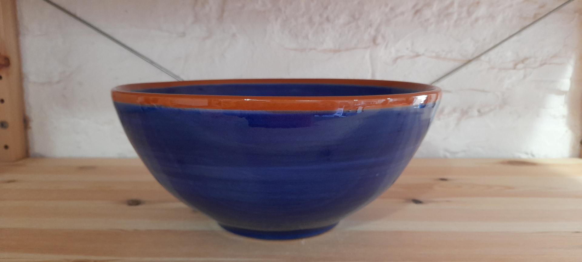 Cuenco de 29cm azul marino