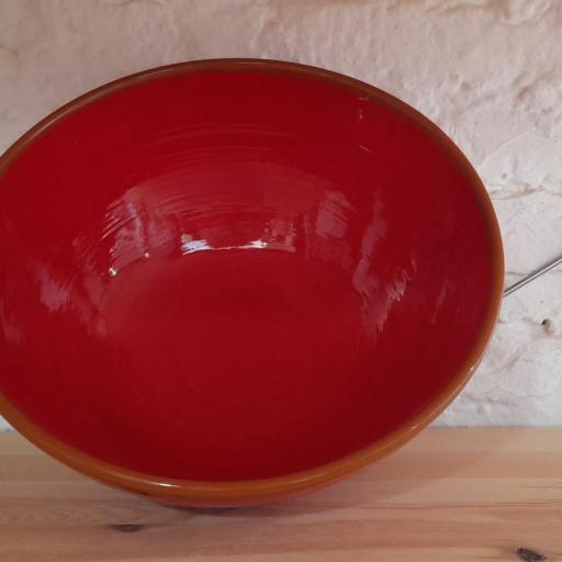 Cuenco de 29 cm color rojo [1]