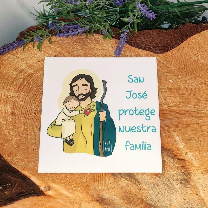 AZULEJO SAN JOSÉ            (Santa María de Refet)