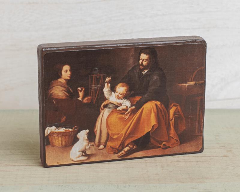 ICONO DE LA SAGRADA FAMILIA                (Santa María de Refet)