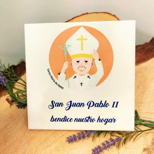 AZULEJO SAN JUAN PABLO II            (Santa María de Refet)