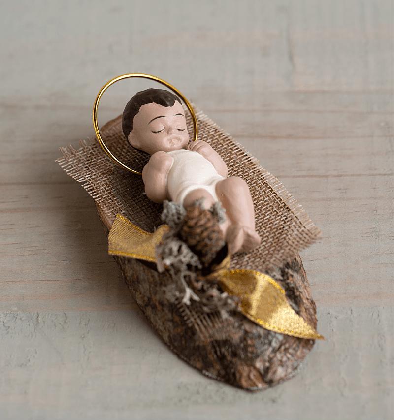 NIÑO JESUS EN TRONCO                (Carmelitas Descalzas de León)