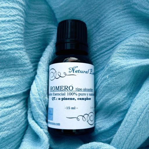 Aceite Esencial de Romero tipo Alcanfor