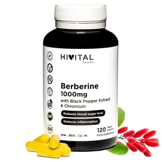 BERBERINA 120 cápsulas