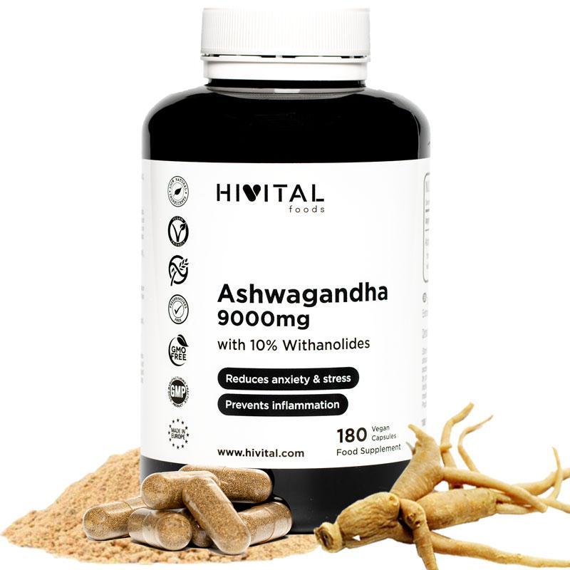 ASHWAGANDHA 180 CÁPSULAS