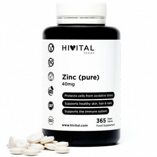 Zinc 365 comprimidos