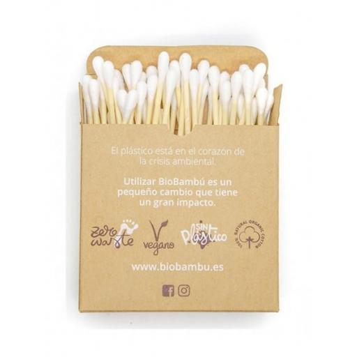 Bastoncillos bambú y algodón ecológico  [1]