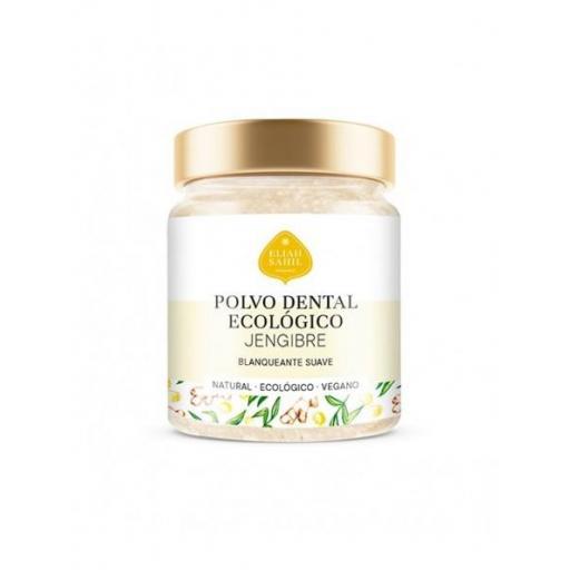 Polvo dental blanqueador de Jengibre