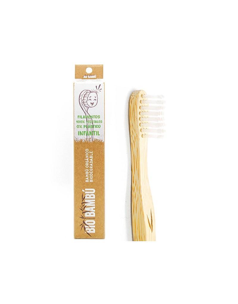 Cepillo dientes bambú infantil