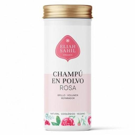 Champú Orgánico Polvo de Rosas