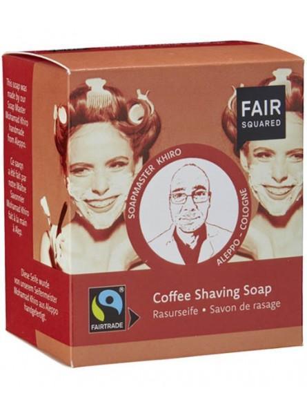 Jabón con café para afeitado