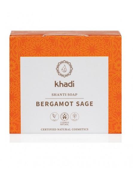Jabón Shanti  Bergamota y Salvia