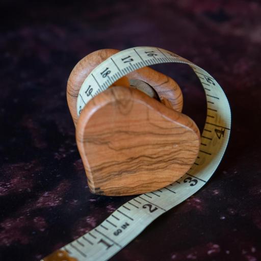 Cinta métrica corazón [2]