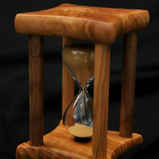 Reloj de arena pequeño